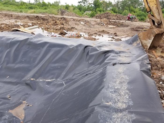 Bạt Lót Hồ Chứa Nước Nuôi Tôm, Nuôi Cá, Bạt Nhựa HDPE Lót Ao Chống Thấm Quảng Ngãi