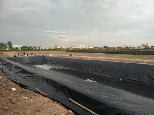 Bạt Lót Hồ Chứa Nước Nuôi Tôm, Nuôi Cá, Bạt Nhựa HDPE Lót Ao Chống Thấm Phú Thọ
