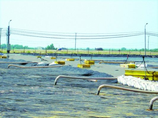 Bạt Lót Hồ Chứa Nước Nuôi Tôm, Nuôi Cá, Bạt Nhựa HDPE Lót Ao Chống Thấm Ninh Thuận