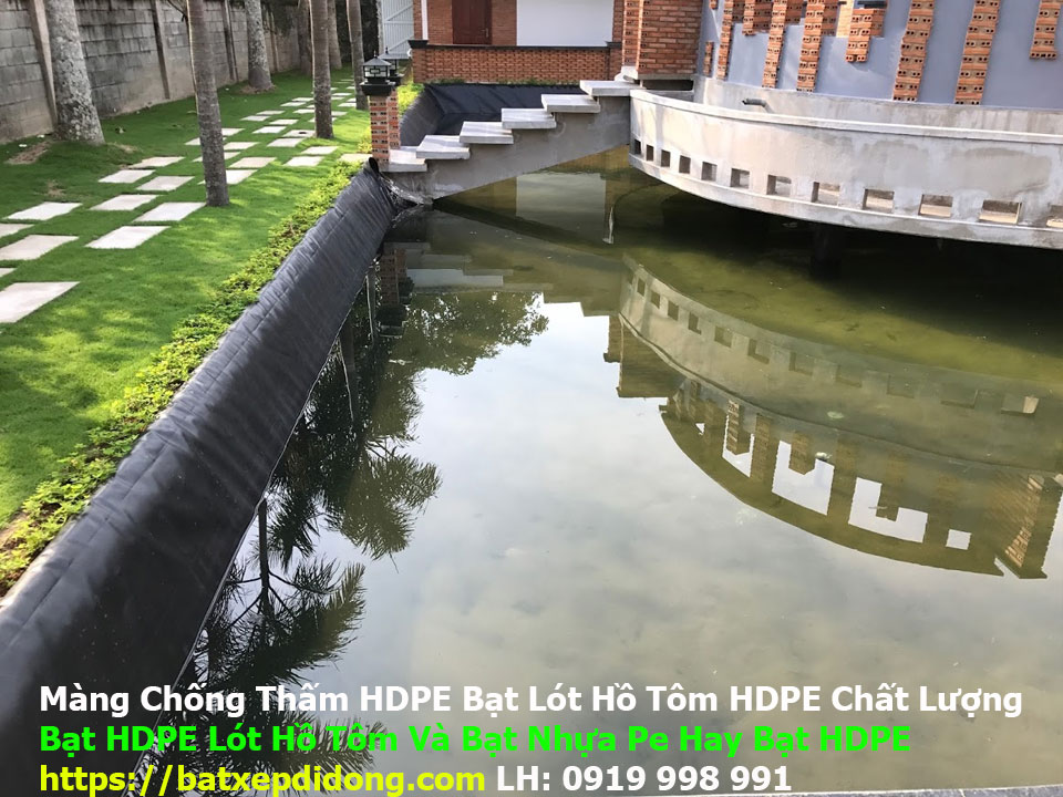 Mua Bạt Nuôi Cá TPHCM, Màng Chống Thấm HDPE.