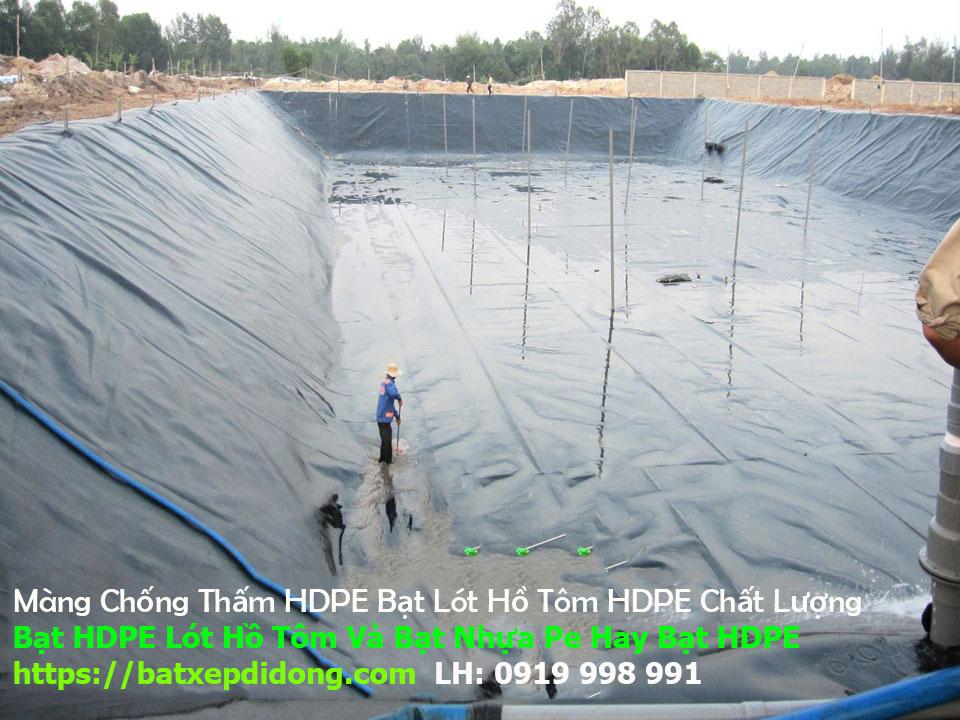 Bạt Lót Bể Bơi, Bạt HDPE Lót Hồ Giá Gẻ