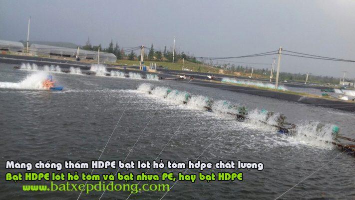 Bạt Lót Hồ Chứa Nước Nuôi Tôm, Nuôi Cá, Bạt Nhựa HDPE Lót Ao Chống Thấm Thái Nguyên