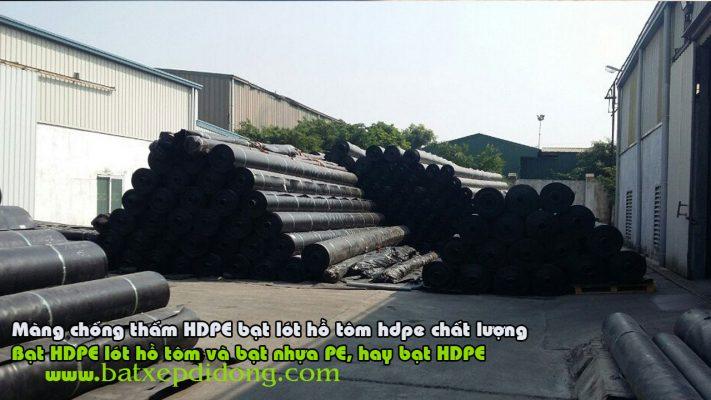 Bạt Lót Hồ Chứa Nước Nuôi Tôm, Nuôi Cá, Bạt Nhựa HDPE Lót Ao Chống Thấm Cao Bằng