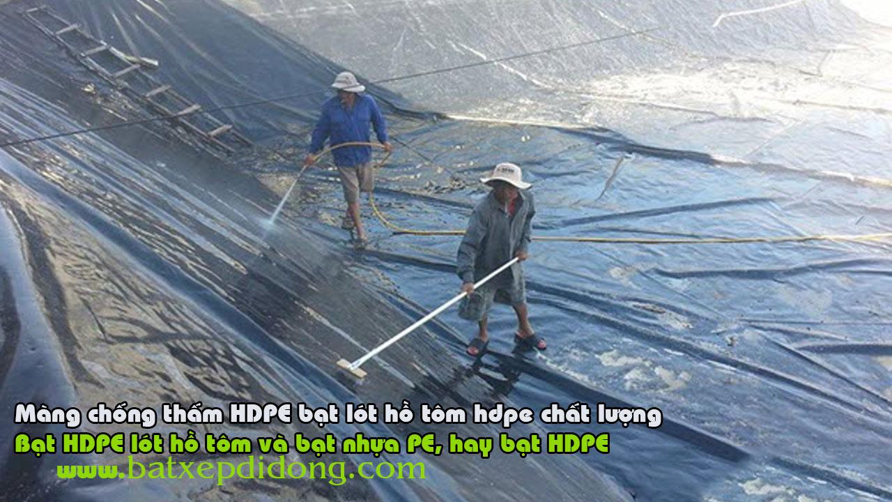 Báo giá bán lẻ Bạt Lót Bể Cá Cảnh nhựa HDPE 0,5mm tính theo M2