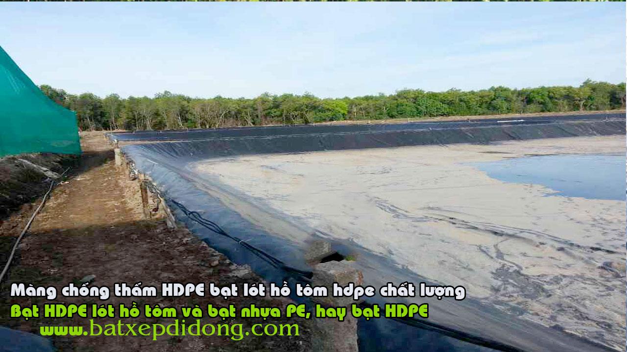 Bạt Lót Hồ HDPE Giá Rẻ - Bạt Bhựa HDPE, Bạt Nhựa Lót Hồ Cá, Bạt Lót Ao , Bạt Nhựa Lót Bãi Rác