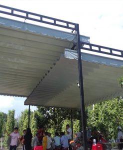 Những đặc điểm kỹ thuật của dòng sản phẩm mái xếp, mái xếp lượn sóng, mái xếp di động .