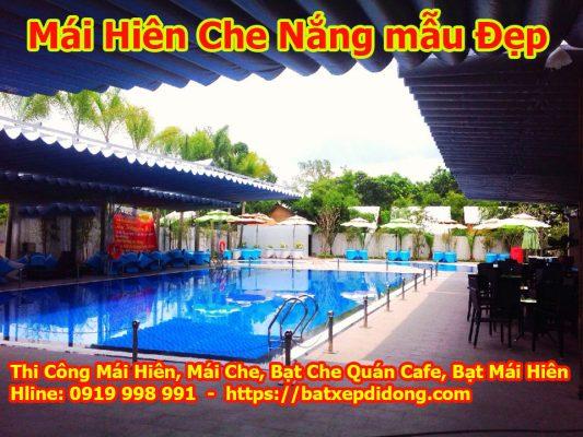 Mái che di động quận Tân Phú tphcm bạt che nắng mưa Tân Phú giá rẻ