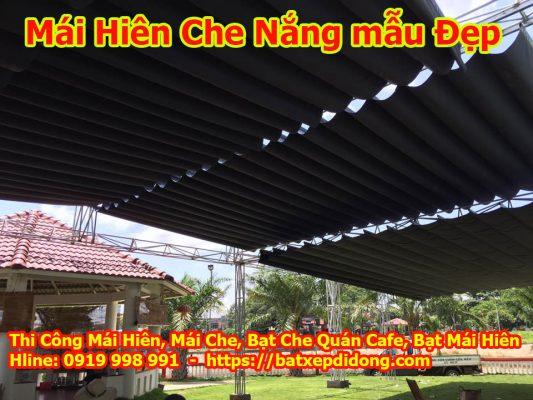 Thiết Kế Thi Công Lắp Đặt Mái che di động tại Biên Hòa Đồng Nai