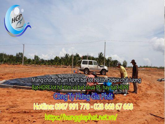 Địa Chỉ Bán Bạt Lót Hồ Chứa Nước Giá Rẻ Tại Bình Phước, Bạt HDPE Lót Ao Chứa Nước Nuôi Cá