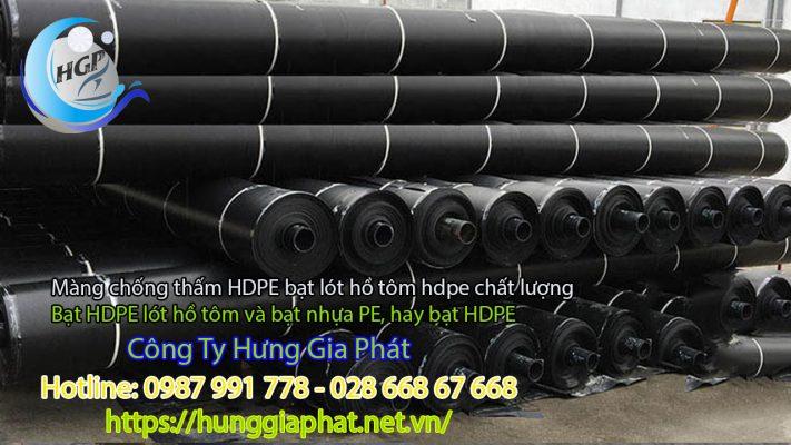 Địa Chỉ Bán Bạt Lót Hồ Chứa Nước Giá Rẻ Tại Lâm Đồng, Bạt HDPE Lót Ao Chứa Nước Nuôi Cá