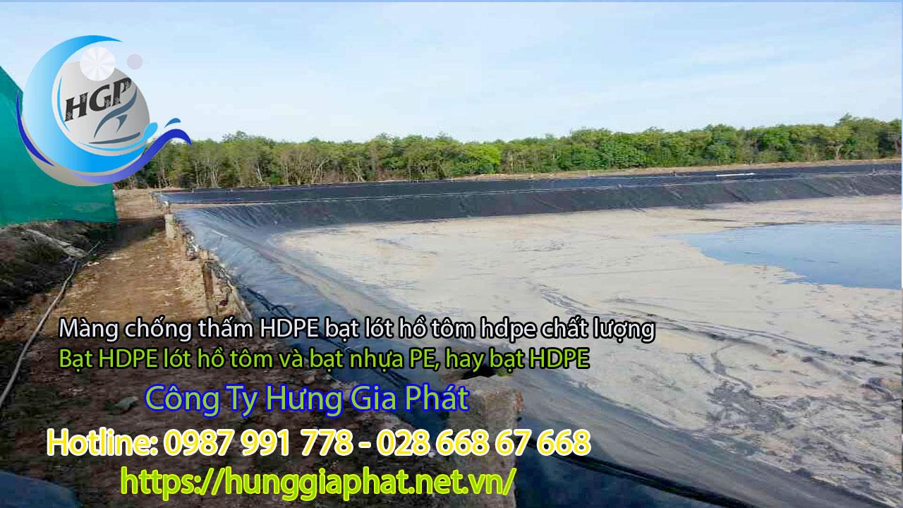 Địa Chỉ Bán Bạt Lót Hồ Chứa Nước Giá Rẻ Tại Gia Lai, Bạt HDPE Lót Ao Chứa Nước Nuôi Cá