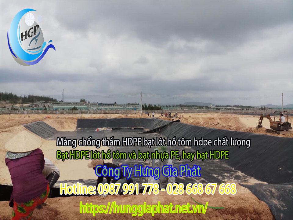 Địa Chỉ Bán Bạt Lót Hồ Chứa Nước Giá Rẻ Tại Bảo Lộc, Bạt HDPE Lót Ao Chứa Nước Nuôi Cá