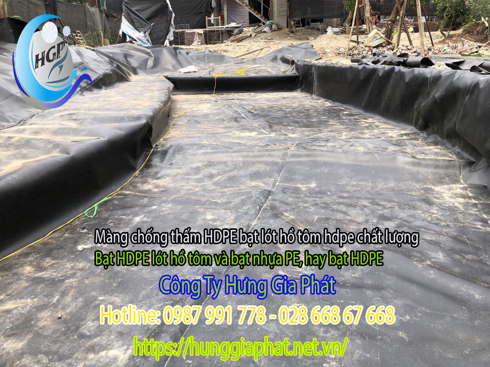 Địa Chỉ Bán Bạt Lót Hồ Chứa Nước Giá Rẻ Tại Đắk Nông, Bạt HDPE Lót Ao Chứa Nước Nuôi Cá